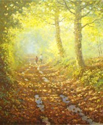 Forest Trail by James Preston -  sized 10x11 inches. Available from Whitewall Galleries